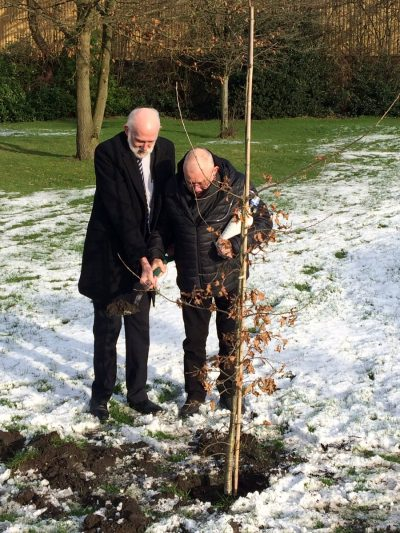 Tree Planting Bolton Pulmonary Fibrosis Support Group